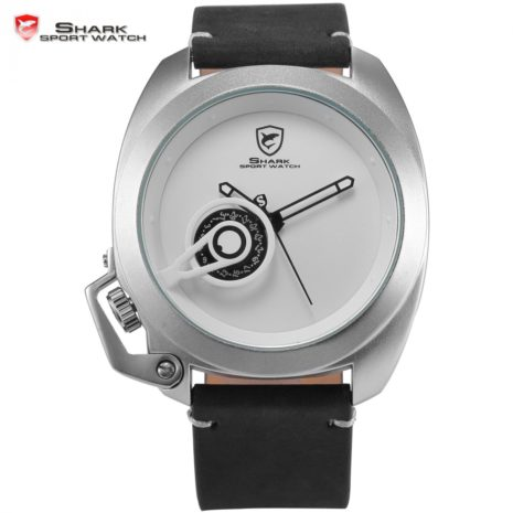 Tawny Shark Watch - White